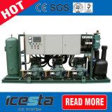 単位を凝縮させる水によって冷却される圧縮機ラック