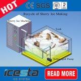 ボートに取り組むスペース効率のスラリーの製氷機