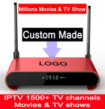 изготовленный на заказ<br/> бесплатное IPTV 3GB 32ГБ жесткий диск SATA 2 Тбайт S912 Octacore 5g WiFi Android7.1 ТВ окно просмотра миллионы фильмы и телепередачи H2PRO