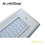 Teléfono APP de control solar LED luces de la calle de las calles residenciales