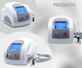 Q Switch ND YAG Laser Pigmentation Scar Acné Tattoo Removal Laser Machine de beauté Salon avec Ce