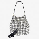 Versátil e resistente da mulher Rosa mala bolsa Sacola de Compras