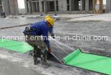 Materiale di tetto impermeabile autoadesivo della membrana della pellicola dell'HDPE