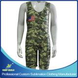 Sublimação completa personalizada camisolas de wrestling Premium de alta