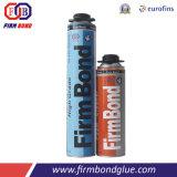 500 ml de espuma de poliuretano de alta calidad relleno de espacios y la fijación de