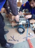 Atuador pneumático Válvula de borboleta Wafer com tratamento de ar Frl.