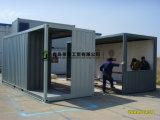 Здание контейнера стальной структуры плоского пакета