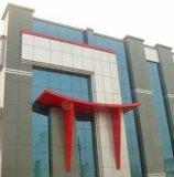 Het Chinese Rode Bouw Samengestelde Comité van het Aluminium van de Decoratie van de Muur Materiële