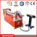 De Symmetrische Rolling Machine van drie Rol/de Buigende Machine van het Staal/de Buigende Machine van de Plaat/Mechanische Rolling Machine