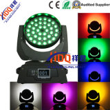 36X18W 6in1 Zooming Bee Eye RGBWA UV LED tête de tête mobile