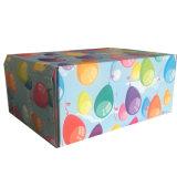 لون طبع يغضّن صندوق مع ترقيق لامعة