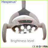 9 LED de alta calidad de funcionamiento Oral Dental Lámpara con Sensor de sillón dental