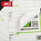 """Impermeabilizar la escritura de la etiqueta de 3.94 (100mm*180m m) suavemente modificada para requisitos particulares de la impresión """" *7.09 """" de envío logística de las escrituras de la etiqueta"""