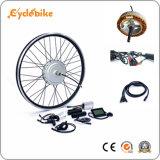36V 800W/1000W de aleación de aluminio resistente al agua el estator E Kit de conversión de bicicleta con pantalla LCD