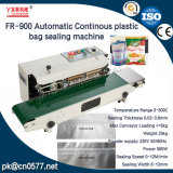Fr-900automatic Continous plastic Bag strap Sealing Machine for Detergent