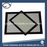 1/4 couvre-tapis antidérapage de traitement au four de silicones faits sur commande de taille