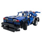 Les enfants en plastique voiture RC jouet éducatif interactif de bloc de construction