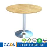 Tavolo delle trattative di legno e Nizza mobilia della tavola rotonda di disegni
