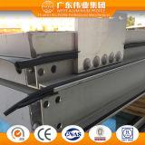 Het Aluminium van Weiye/Aluminium/Thermische Isolerende Gordijngevels Aluminio met Zichtbaar Frame