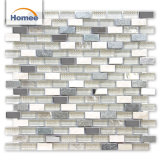 Mattonelle di mosaico decorative dell'interno dirette di prezzi bassi della fabbrica miste con Glass&Metal&Stone