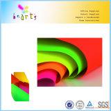 Color de alta calidad Whlolesale papel fluorescente