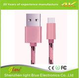 튼튼한 2.4A는 비용을 부과 USB 케이블 Iphones와 정제를 위한 단식한다