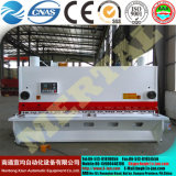 Máquina de corte hidráulica qualificada, guilhotina, máquina de estaca, balanço