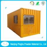 容器のコーティングのための黄色い屋外の粉のコーティング