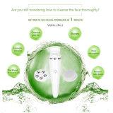 Limpeza profunda do Pore e o Exfoliator facial delicado para o Massager seco e inoperante da escova da remoção da pele