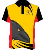 Projeto unisex atlético do polo de Jersey do grilo dos esportes da melhor qualidade