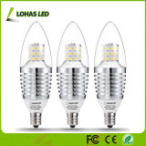 Dimmable E12 7W 알루미늄 SMD LED 초 전구 램프