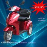 500 Вт/700W 3 взрослых Уилер, электрический скутер Trike инвалидов, электрический инвалидных колясках с седла Deluxe (ТК-022)