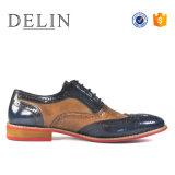 2018 moda hombres clásico zapato de cuero zapatos personalizados