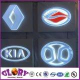 Thermoforming 3D Acrylsignage-Auto-Firmenzeichen für das Bekanntmachen