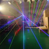 3W DMX DJ RGB farbenreicher Animation-Laser