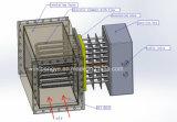 Equipo de la calefacción en seco del aire