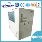 Um refrigerador ambiental de refrigeração ar das garantias do ano