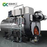 Comercial Industrial Ultro-Low Condensação Nox Óleo Diesel caldeira a gás 1 2 Ton 3toneladas 4T/H 5 tonelada por hora 1-25ton opcional com a Itália os preços do queimador