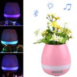 Bluetooth 새로운 스피커 LED 빛을%s 가진 지능적인 음악 화분