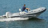 Crogiolo gonfiabile rigido di vetroresina della barca della nervatura di salvataggio di Liya 4.3m-5.2m
