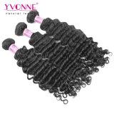 Горячие продавая глубокие волосы девственницы человека волос 100% волны для чернокожих женщин