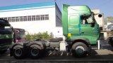 Rimorchio di Sinotruk del camion del trattore di HOWO A7 6X4 420HP/testa resistenti del camion