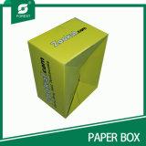 El precio razonable crea el rectángulo de envío para requisitos particulares anaranjado de la cartulina del OEM