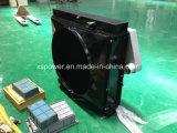 El tanque o radiador de agua de los recambios del motor diesel de Cummins