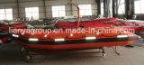 Nave inflable del rescate del barco de la velocidad del bote salvavidas del bote de salvamento de Liya