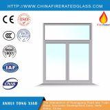 Ventana resistente al fuego abrible teñida multiforme modificada para requisitos particulares del marco de acero