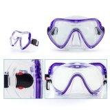 Masque de bain de silicones de masque de Snorkling de matériel de Freediving et jeu professionnels de prise d'air