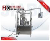 回転式水コップのパッキング機械