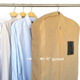 셔츠와 외투를 위한 접을 수 있는 회전 검정 한 벌 여행용 양복 커버