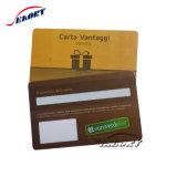 Acabamento brilhante Hico cartão de banda magnética para controle de acesso